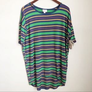 Lularoe | Irma  Striped Tunic | Size XS NWT